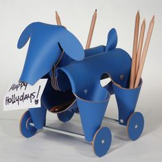 Dog Container Blue, $49, now featured on Fab. Vacavaliente