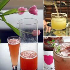Whether you're planning an Easter brunch, late lunch, or early dinner, one thing's for sure: you must celebrate with cocktails that are just as festive as the Easter Drink, Easter Cocktails, Easter Lunch, Hoppy Easter, Holiday Cocktails, Easter Party, Fruity Cocktails, Easter Recipes, Holiday Recipes