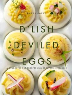 Deviled eggs are not just for summer picnics, now you can enjoy America's beloved appetizer year round with Kathy Caseys 50 fabulous recipes. Deviled eggs are always a party favorite, and the first th