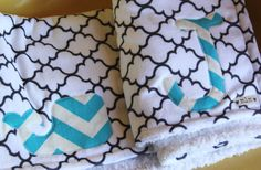 This listing is for one Chevron Stripe Whale Baby Blanket. Measures 27 x 32    This luxurious lightweight Summer blanket is made from the softest