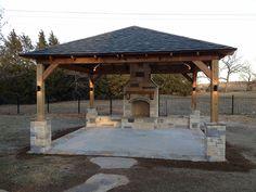 Structures Portfolio   Hillman Outdoor Living   Fort Worth TX