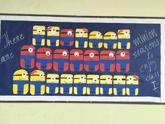 Bulletin board for class 1