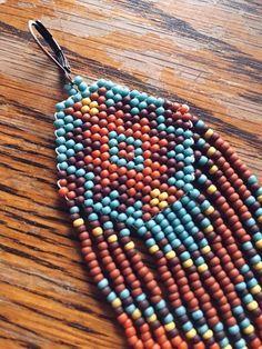 Seed Bead Jewelry, Bead Earrings, Beaded Jewelry, Beaded Necklace, Beaded Bracelets, Unique Jewelry, Seed Beads, Candy Jewelry, Native Beadwork