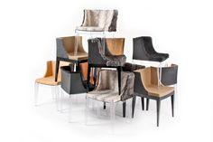 Mademoiselle Chairs For Kartell By Phillipe Starck + Lenny Kravitz