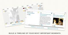Proust é um aplicativo no qual podemos registrar o que temos feito em nossa vida, as fotos, os momentos, os lugares, os eventos… o resultado é um livro digital classificado por episódios, criado a partir das respostas que formos dando às centenas de perguntas disponíveis em diversas categorias.