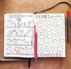 ideias para bullet journal