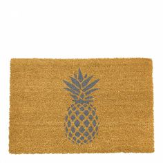Give you and your guests a grand welcome to your home with a designer doormat from ArtsyAll Artsy Doormats are crafted from a high quality tufted coconut fibreArtsy Doormats are professionally dyed using exterior paints made to b Grey Home Decor, Food Dye, Coir, Doormats, Exterior Paint, Dyes, Shake, Pineapple, Coconut