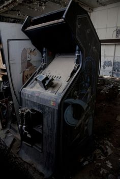 What a Video Game Graveyard Looks Like