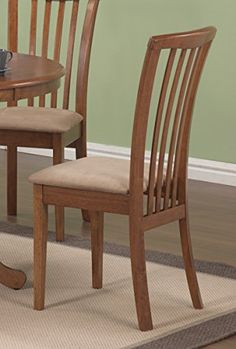 Dining Chair in Oak  Set of 2 -- Check out this great product.Note:It is affiliate link to Amazon.