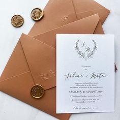our new design can be combined with different envelopes . Simple Wedding Invitations, Elegant Invitations, Wedding Stationary, Custom Invitations, Pocket Invitation, Invitation Envelopes, Black Envelopes, Wax Seals, Nasa