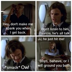 This is one of the best Criminal Minds scenes Tv Quotes, Movie Quotes, Funny Quotes, Spencer Reid, Dr Reid, Matthew Gray Gubler, Criminal Minds Funny, Criminal Minds Cast, Behavioral Analysis Unit