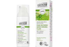 Lavera Organic Mint Pore Refining Moisturising Fluid emulsio 50 ml