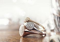Gold Pavé Rings!