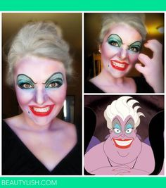 Halloween look for Disney's Ursula | Breanna B.'s Photo | Beautylish