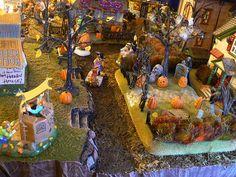 lemax halloween miniature villages   Recent Photos The Commons Getty Collection Galleries World Map App ... Halloween 20, Outdoor Halloween, Holidays Halloween, Halloween Crafts, Halloween Decorations, Fall Decorations, Halloween Village Display, Lemax Christmas, Halloween Miniatures