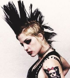 Brody Dalle (The Distillers) my idol in high school! Love her.