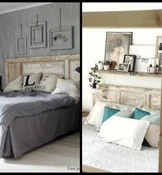 Cabeceros de Cama: Encuentra aquí + 50 Diy para hacer el tuyo propio Home Staging, My Room, Macrame, Sweet Home, Santa, Bed, Furniture, Home Decor, Amor