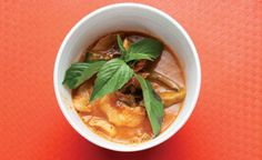 The recipe for this spicy Thai curry comes from chef Saipin Chutima, of the Las Vegas restaurant Lotus of Siam.