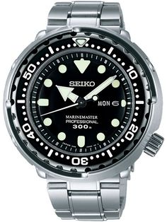 Seiko SBBN031 Quartz MarineMaster Professional Dive Watch | $1,199 Sale! Up to 75% OFF! Shop at Stylizio for women's and men's designer handbags, luxury sunglasses, watches, jewelry, purses, wallets, clothes, underwear