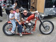 JohnnyChop | Johnny Chop & Boys, He was truly a great motorcycle builder, RIP.