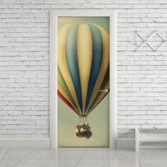 Adesivo de porta balão - StickDecor | Decoração Criativa