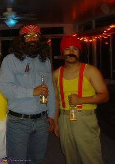 This homemade costume for couples entered our 2013 Halloween Costume Contest.