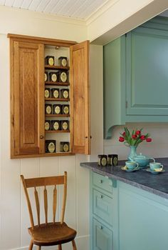 A Casual Country Kitchen. Tea StorageTea ...