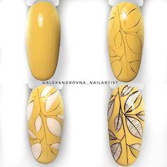 Nail Design ✰A Fashion Star✰ Diy Nails, Swag Nails, Cute Nails, Autumn Nails, Fall Nail Art, Nailart, Diy Nail Designs, Flower Nail Art, Nail Decorations