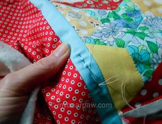 she can quilt: Hand Quilting with Jo - a 2013 FAL tutorial