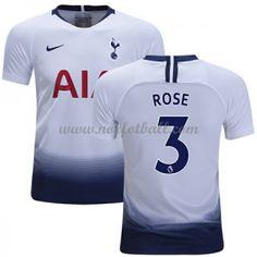 Billige Fotballdrakter Tottenham Hotspurs 2018-19 Danny Rose 3 Hjemmedrakt Kortermet Tottenham Hotspur, Premier League, Tops, Fashion, Moda, Fashion Styles, Fasion
