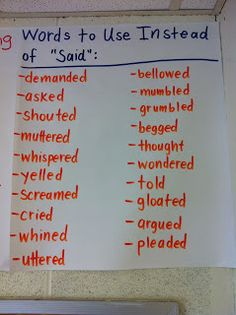 A great reminder when writing narratives during Writing Workshop.
