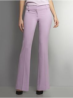 The Crosby Street Crepe Tailored Flare Pant