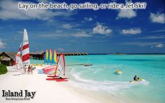 So many options and toys are this Caribbean Resort in the Bahamas.   Check out http://IslandJay.com and get your daily dose of the Caribbean Island & Beach Life.