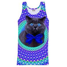 Gugu & Miss Go | Bow Tie Cat Tank-Top