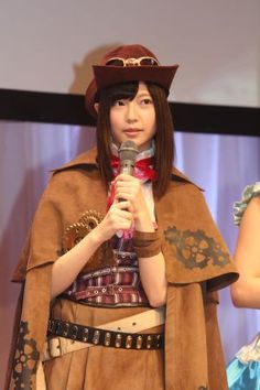 Haruka Shimazaki - Japanese idol (AKB48)