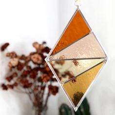 Ornament Diamond - Buckwheat Field