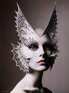 Butterfly Mask/ Headdress