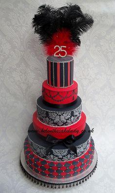 6 tier red & black | Flickr - Photo Sharing!
