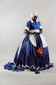 Mary Sibande, They don't make them like they used to, 2008, Digital print on cotton rag paper (Edition of 10) © Mary Sibande – GalleryMOMO