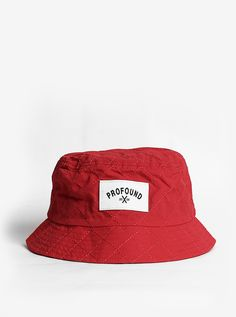 Profound Aesthetic Quilted Nylon Bucket Hat in Red  http://profoundco.com/collections/hats/products/quilted-nylon-bucket-hat-red