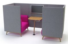 Tryst media booth 2 seater
