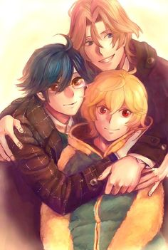 Cute High Earth Defense Club LOVE! -En, Atsushi & Yumoto