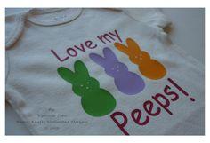 Love My peeps! Easter Baby Onesie #HEP