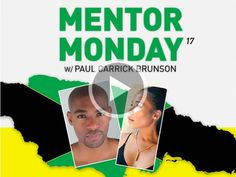 #MentorMonday Session 17: Cedella Marley - June is Caribbean Heritage Month and #MentorMonday is excited to be celebrating with Cedella Marley, the daughter of one of Jamaica's most famous musicians. Join Paul Brunson as they chat about entrepreneurship,  philanthropy and the untapped and lucrative potential of the Caribbean market for entrepreneurs. Join them live on 6/9 at 9p EST.