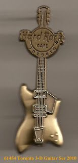 Hard Rock Cafe Guitar Pins: *Toronto