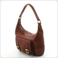 Tolle Ledertasche zu einem unwiderstehlichen Preis. Das ist die sattbraune Small Hobo Bag aus der Kollektion Tate von Fossil. Eine elegante Handtasche, die ideale Begleiterin für viele Gelegenheiten.