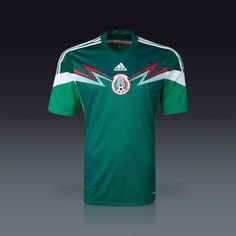 adidas Mexico Home Jersey 2014 - World Cup