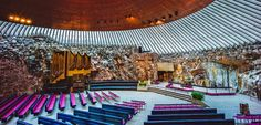 Rock Church; Helsinki, Finland