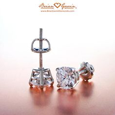 Friction back vs Screw back diamond stud earrings