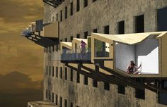 Parasitic Emergency Homes Provide After Flood Shelter for São Paulo   Inhabitat - Sustainable Design Innovation, Eco Architecture, Green Building